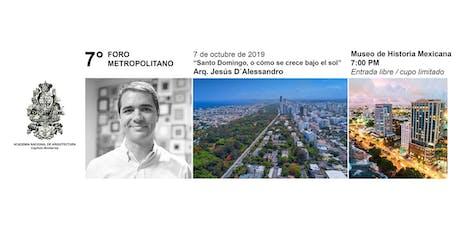 """Sesión 257. """"Santo Domingo, o cómo se crece bajo el sol"""" entradas"""
