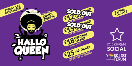 HalloQueen - Spooktacular Show & Party tickets