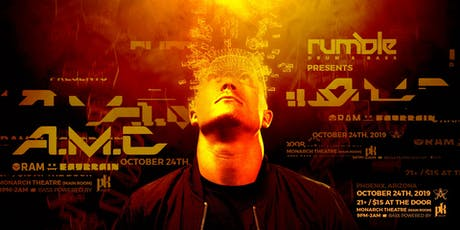Rumble Drum & Bass Presents: A.M.C. tickets