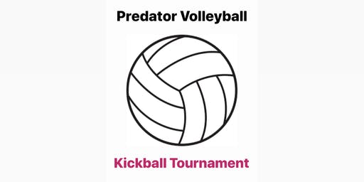 Predator Volleyball Kickball Game