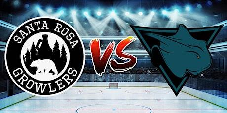 Santa Rosa Growlers vs. San Diego Skate - Hockey Game tickets