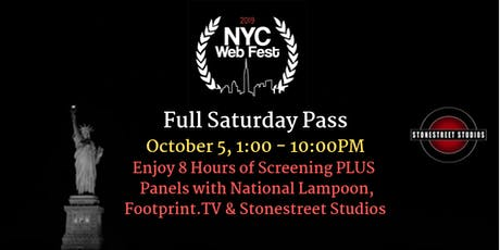 Full Saturday Pass ~ NYC Web Fest tickets
