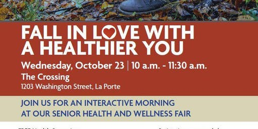 Senior Health Fair: Fall in Love with a Healthier You