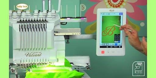 Multi-Needle Embroidery class