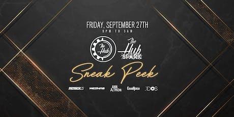 SNEAK PEAK | The Hub & Hub Spark tickets