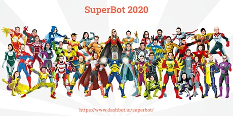 SuperBot 2020: Chatbot, Voice Skill, and AI Conference tickets