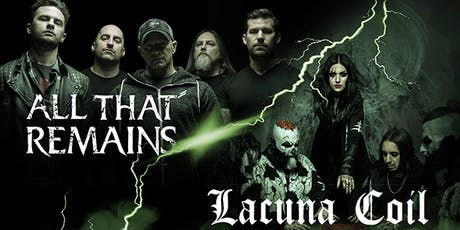 All That Remains, Lacuna Coil tickets