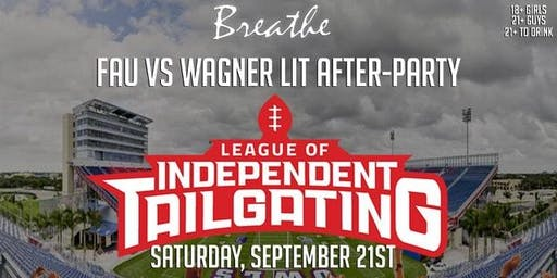 FAU vs WAGNER AFTER PARTY | TONIGHT @ BREATHE ULTRA LOUNGE