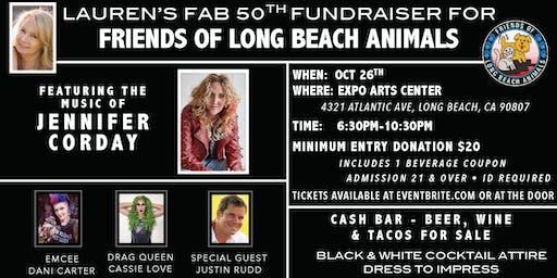 Lauren's Fab 50 Fundraiser for Friends of Long Beach Animals