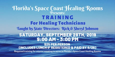 Florida's Space Coast Healing Rooms Training tickets