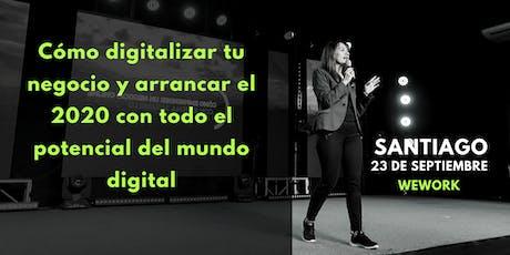 CÓMO DIGITALIZAR TU NEGOCIO EN EL 2020. WEWORK MARIANO SANCHEZ. tickets