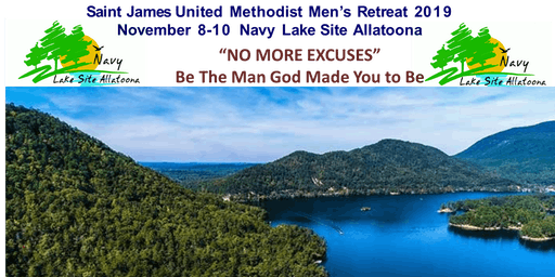Saint James United Methodist Men's 2019 Retreat