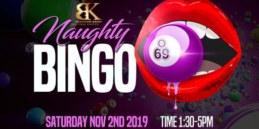 Erie Presents Naughty Bingo with Bedroom Kandi