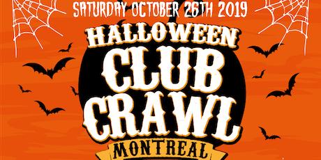 Montreal Halloween Club Crawl - King Street Club Crawl tickets