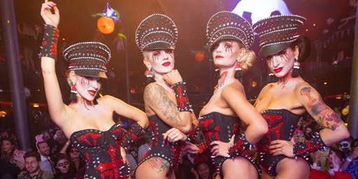 Friday Oct 25 : Monster Ball 2019 - The Biggest Pre-Halloween Party in NYC