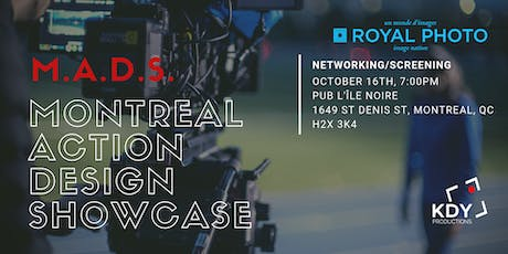 Montreal Action Design Showcase billets