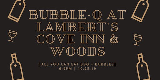 Bubble-Q: All you can eat BBQ & all you can drink bubbles