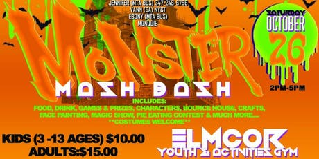 Monster Mash Bash (Kids Party) tickets