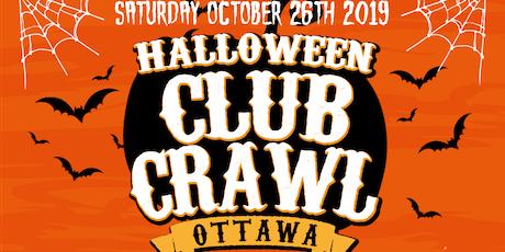 Ottawa Halloween Club Crawl - King Street Club Crawl tickets