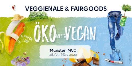Veggienale & FairGoods Münster 2020 Tickets