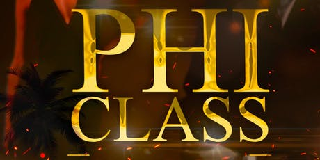 Phi Class 2019 tickets