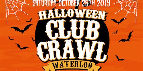Waterloo Halloween Club Crawl - King Street Club Crawl tickets