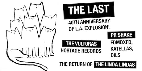 Save Music in Chinatown 19: The Last, Vulturas, PR Shake, The Linda Lindas tickets