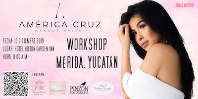 Workshop de Maquillaje América Cruz