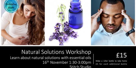 Natural Solutions Workshop tickets