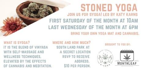 Stoned Yoga tickets