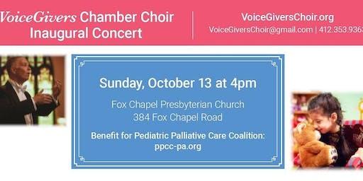 VoiceGivers Concert for Pediatric Palliative Care Coalition