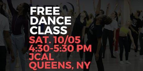 A Free Dance Class tickets