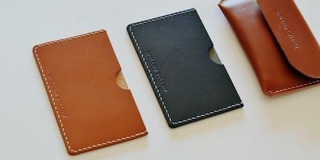 Leathercraft Workshop : Leather Card Holder Making (Beginner's Class) tickets