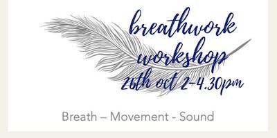 Breathwork Workshop (Breathwave TM) 26 Oct