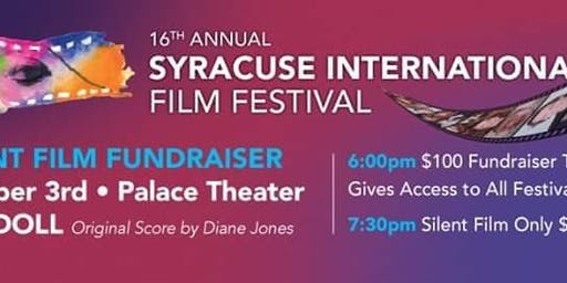 SIFF Fundraiser and Silent Film with Dinner.