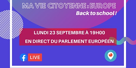 Ta Vie Citoyenne Europe: ton rendez-vous mensuel avec ton parlementaire européen tickets