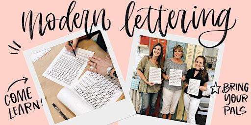 Modern Lettering Workshop for Beginners