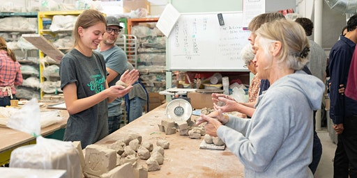 5-week Pottery Sampler (February 16 - March 15)