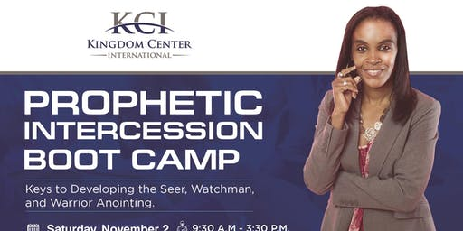 Prophetic Intercession Boot Camp