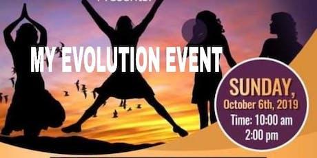 My Evolution Event tickets