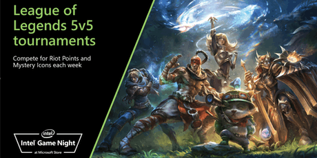 Intel Game Night : League of Legends tickets