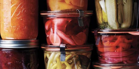 Veggie Pickles & Fruit Preserves WITHOUT Sugar! We make PIES & MULLED WINE tickets