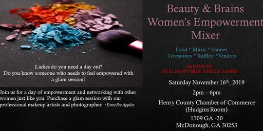 Beauty & Brains Women's Empowerment Mixer