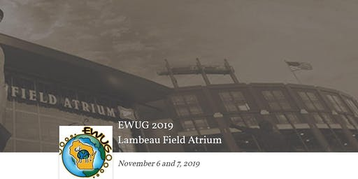 EWUG 2019 - Esri Wisconsin User Group GIS Conference