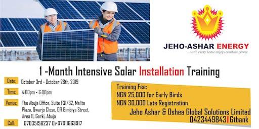 Solar Energy Installation Training