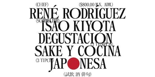 Cena/Maridaje:  Sake y Culinaria Tradicional Japonesa