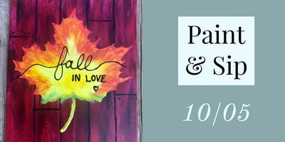 Oct 5 Paint & Sip with Breezy Beckler