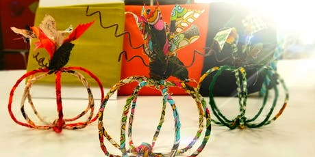 Wire Pumpkins on the Run! w/Pam tickets