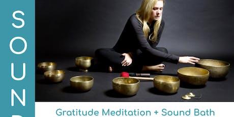 Thanksgiving: A Gratitude Meditation & Sound Bath with Tara Atwood tickets