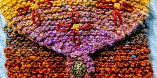 Beginners Knit - Little Purse pt 1 w/Sandra